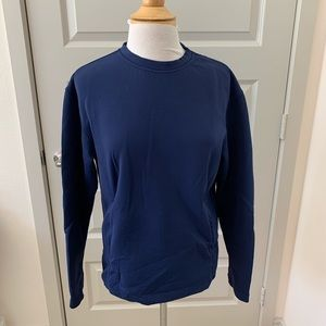 Lululemon long sleeve shirt Navy blue